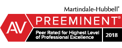 Martindale Hubbell Peer Rated